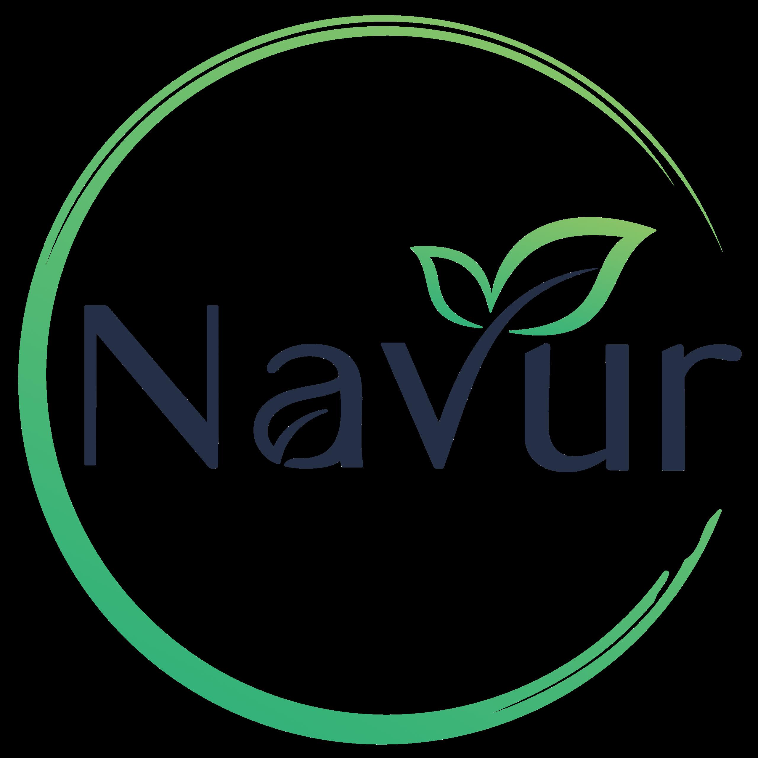 Navur Sprossenglas logo footer